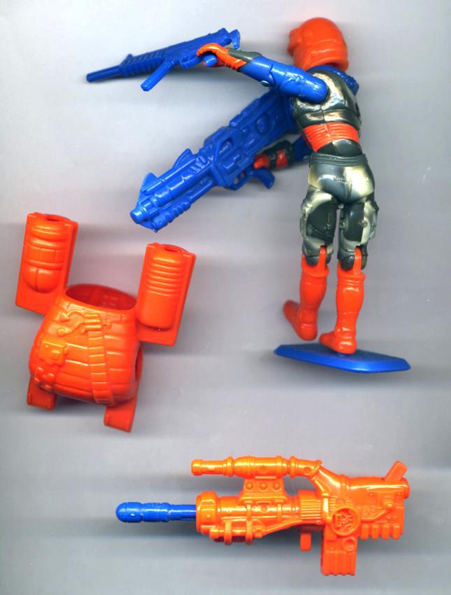 GI Joe Weapon T/'Jbang Double Sword 1991 Original Figure Accessory