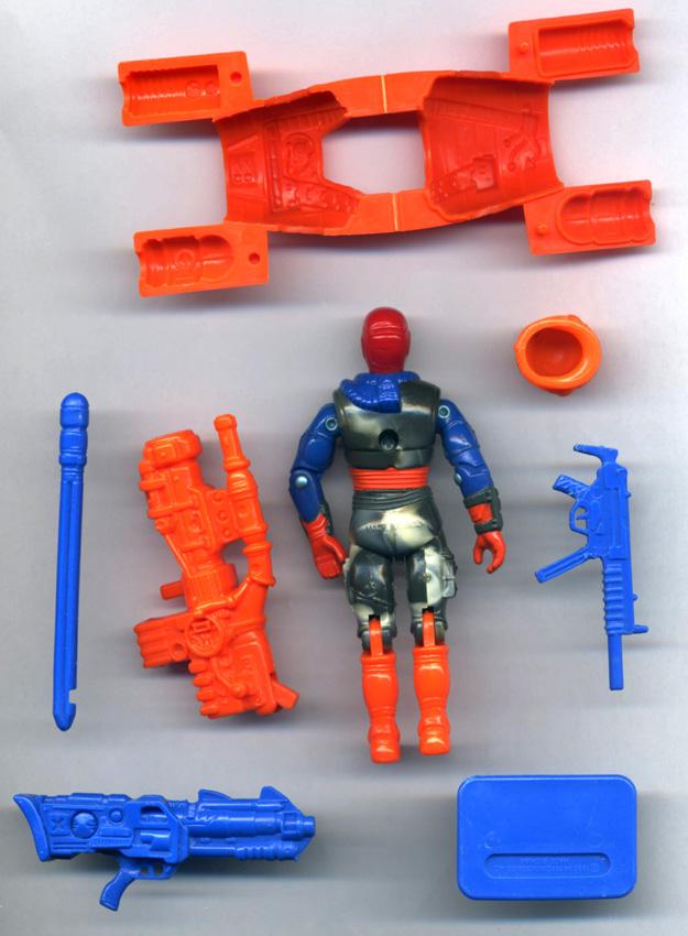 GI Joe figurine Accessoire 1987 Maverick Pistolet Laser//Pistolet à main