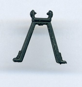 Gi joe Battle Gear Pack accessoires #5 tête de pont fusil mitrailleuse Vintage arme 1987