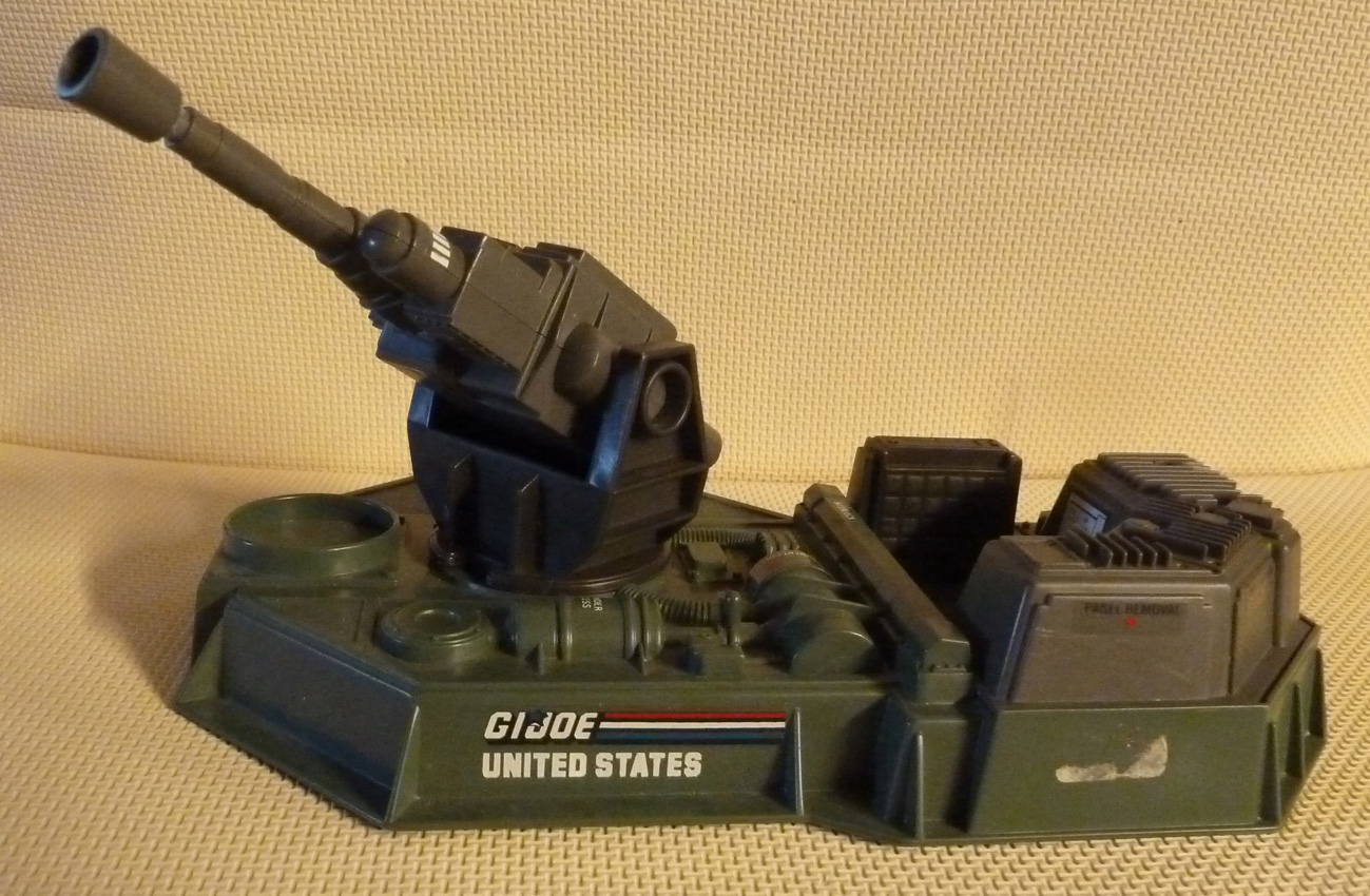 GI JOE véhicule COBRA Moray Hydro Aluminium Depth Charge 1985 pièce d/'origine