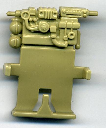 GI Joe 1985 Cobra Ferret grand côté Gun Cannon Vintage Véhicule partie Hasbro
