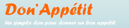 Logo du site internet Don'Appetit
